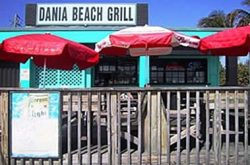 Dania Beach Florida Grill beachfront
